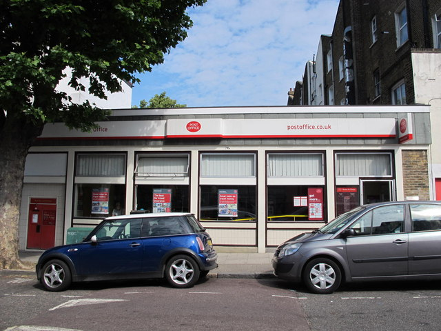 Post Office, Brondesbury Villas / Kilburn High Road, NW6