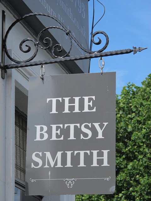 Sign for The Betsy Smith, Kilburn High Road / Brondesbury Villas, NW6