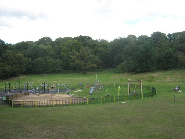 Playground within Frank's Park