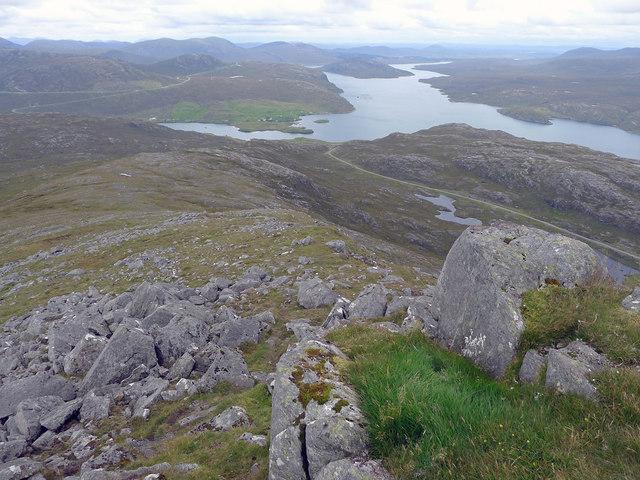 North ridge of Toddun