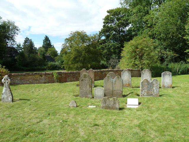 St Nicholas, Leckford: churchyard (2)