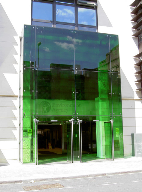 Entrances to the Environment Agency
