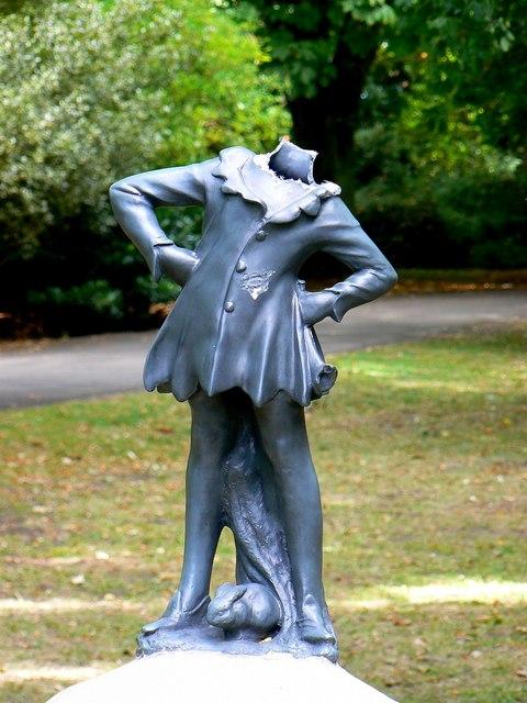 Statue, Town Gardens, Swindon