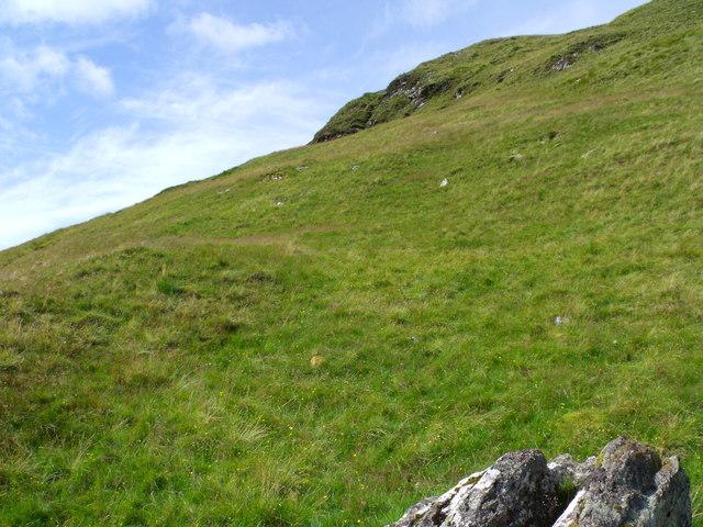 South ridge of Meall Gaothach near Loch Katrine
