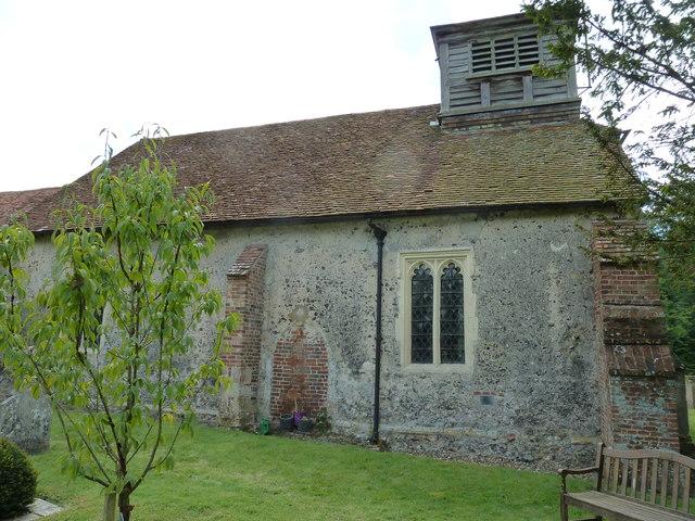 St Nicholas, Leckford- northern aspect