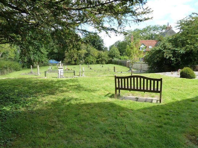 St Nicholas, Leckford: churchyard (4)
