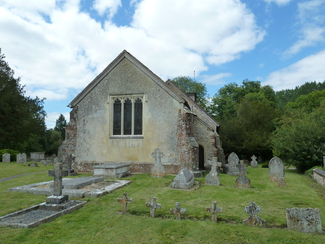 St Nicholas, Leckford- eastern aspect
