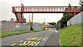 J4974 : Footbridge, Newtownards by Albert Bridge
