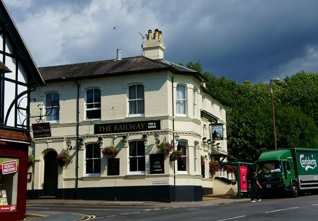 The Railway, Burgess Hill, Sussex