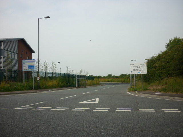 Area 6, A1, Darrington To Dishforth highway depot