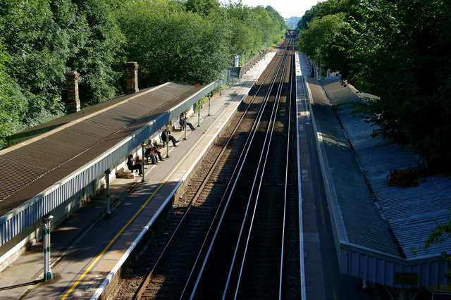 Burgess Hill Railway Station, Sussex