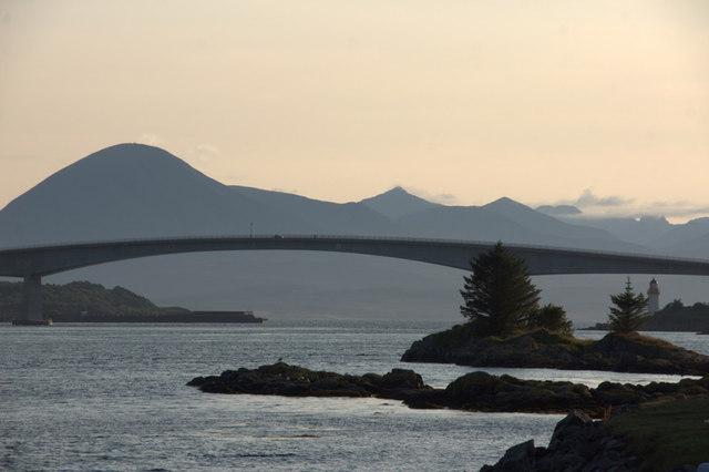 Skye Bridge from Kyle of Lochalsh (Caol Loch Aillse)