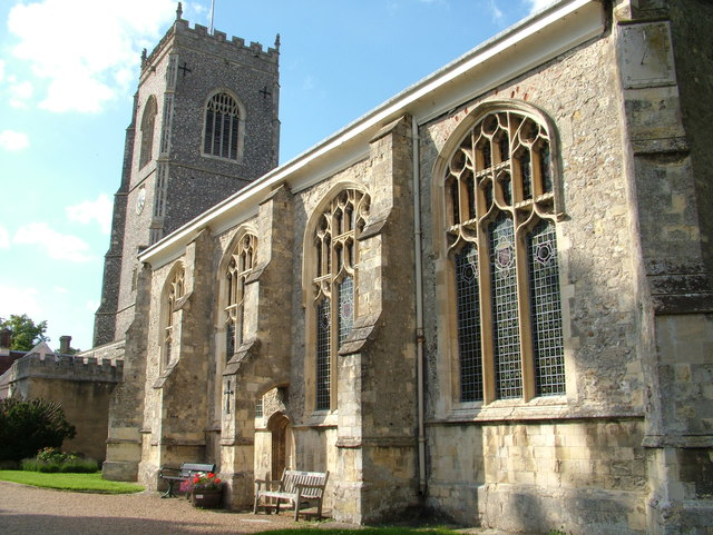 Saint Michael's church Framlingham
