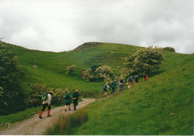 Bridleway near Ponderledge Scar Wensleydale