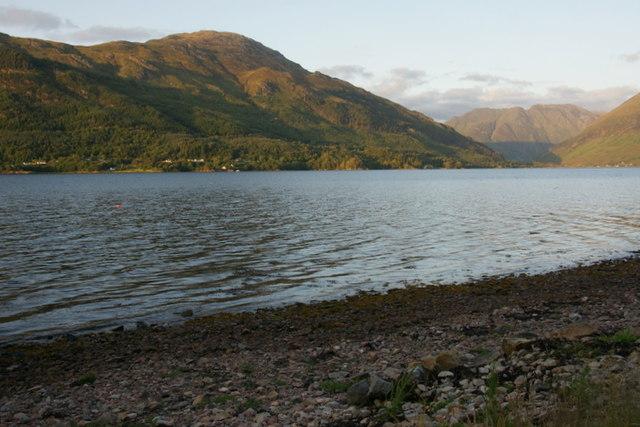 Loch Duich at Letterfearn