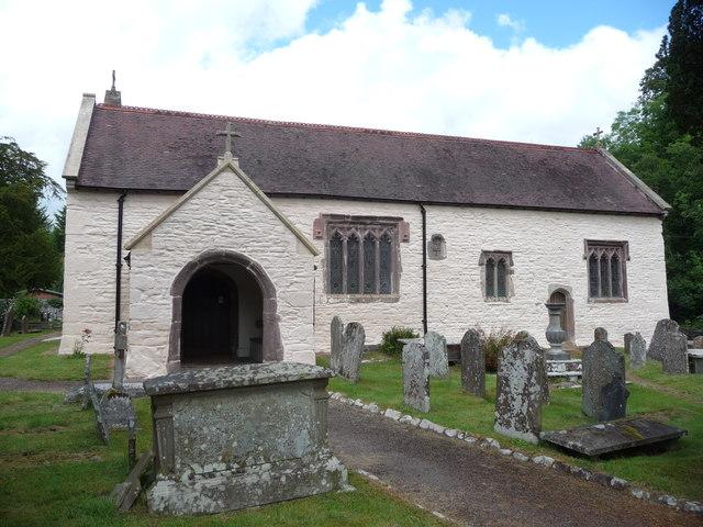 The parish church, Llangenny