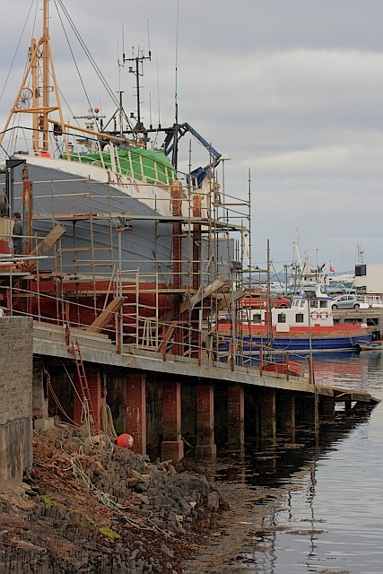 Boatyard, Mallaig