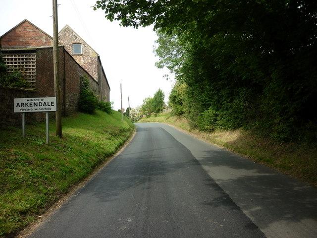 Entering Arkendale, North Yorkshire