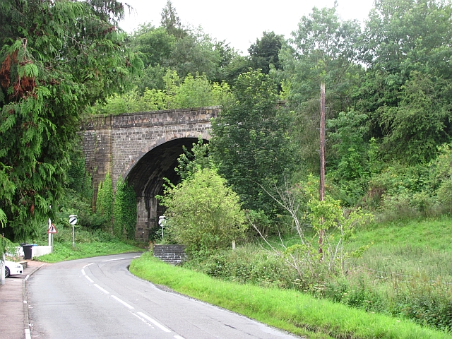 Railway bridge, Den of Lindores