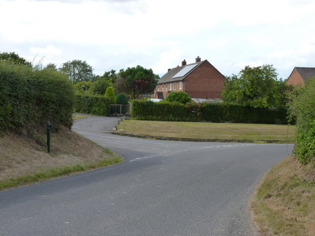 The last houses in Wrockwardine