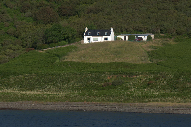 House at South Cuil, Uig