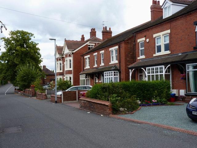 Houses on Wrockwardine Road