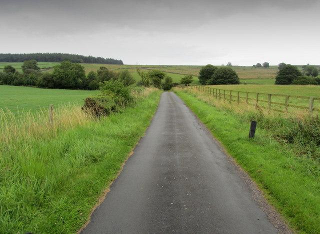 Narrow Lane in Lindley