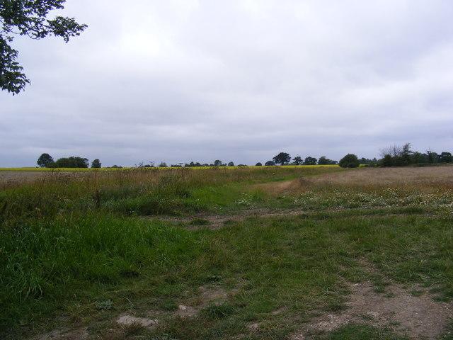 Footpath to Clopton Green