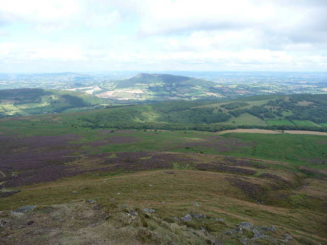 The Skirrid / Ysgyryd Fawr from the Sugar Loaf
