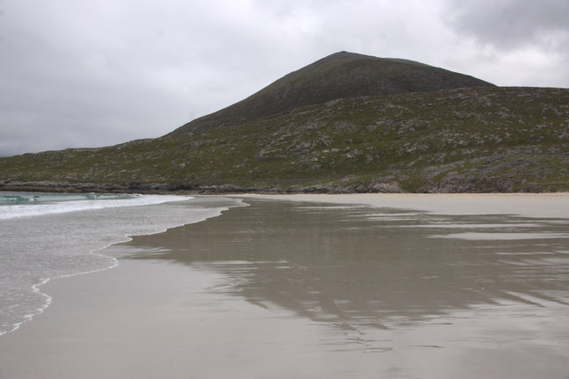 View to Beinn Dubh from Traigh Rosamol