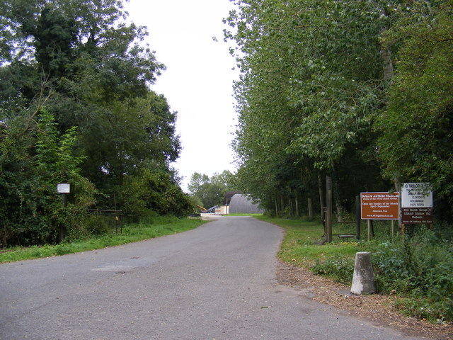 The Entrance to Debach Airfield Museum