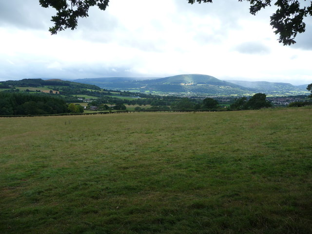 View towards the Blorenge from below the Skirrid