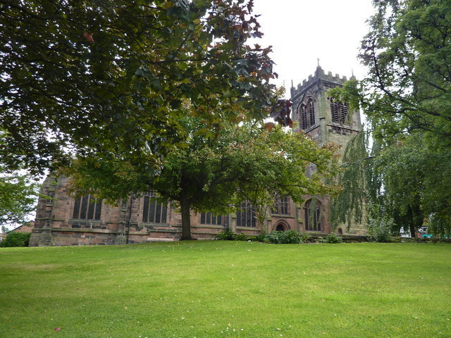 St Michael and All Saints Church, Middlewich