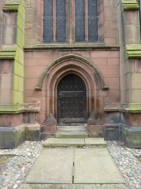 St Michael and All Saints Church, Middlewich, Doorway