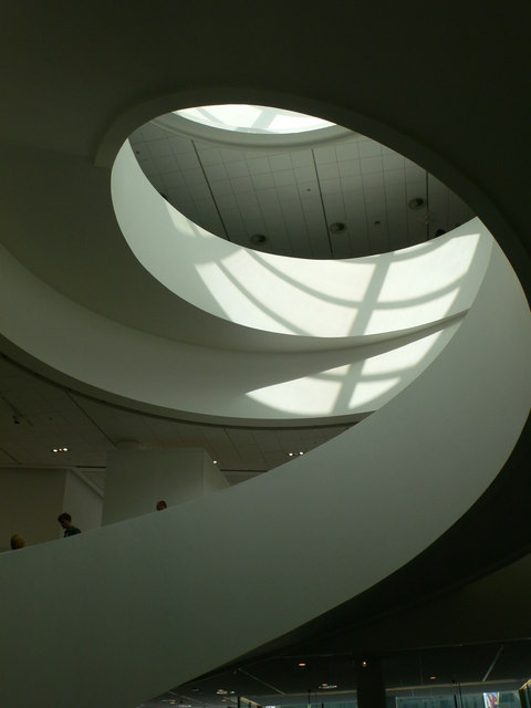 Staircase inside the new Liverpool Museum