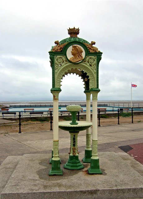 Victorian water fountain