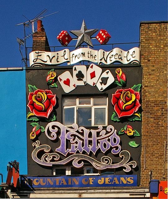 tattoo shop camden high street julian osley cc by sa 2