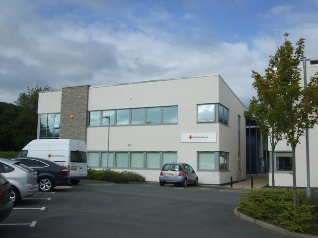 British Red Cross building North Wales Business Park