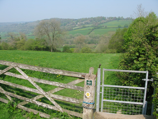 Footpath to Avoncliff from Upper Westwood