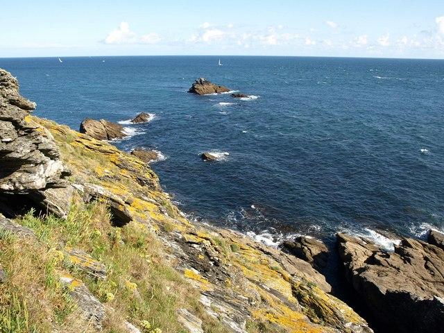 Coastal slope, Bolt Head