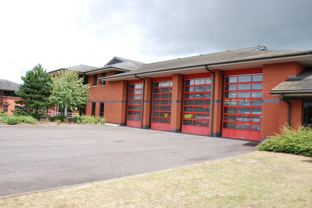 Stafford fire station, Beaconside, Stafford,