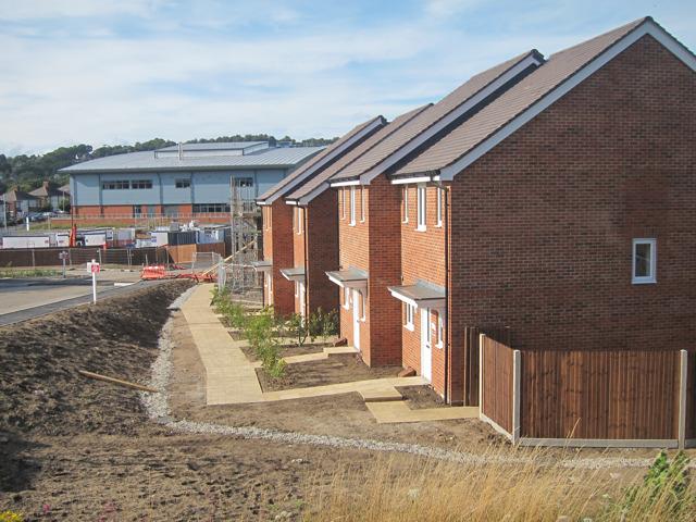 New housing estate