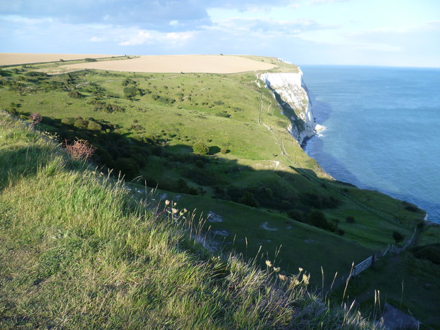 Langdon Hole and The White Cliffs of Dover