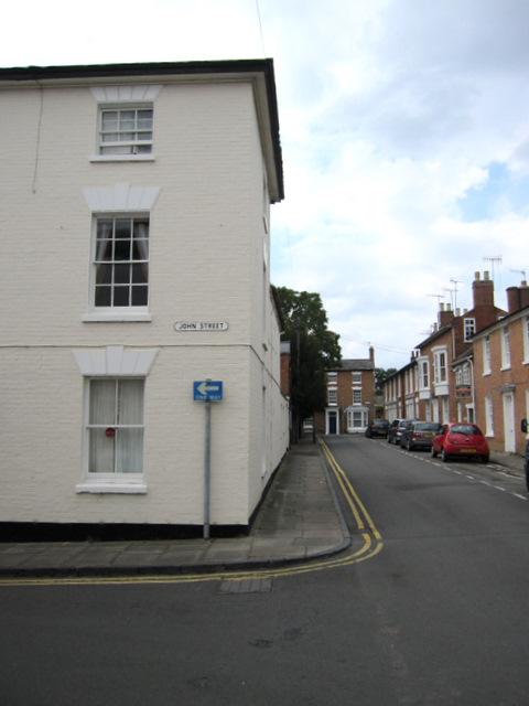 The corner of John Street and Payton Street