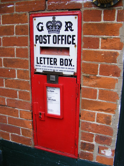 Post Office George V Postbox
