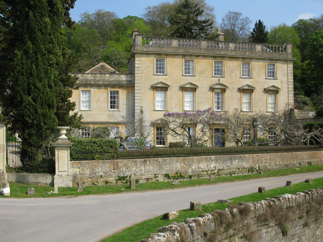 Iford Manor from bridge over the River Frome
