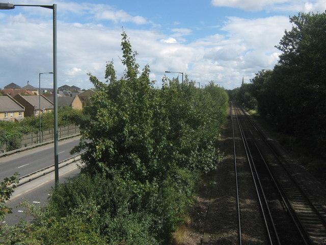 Railway to Erith