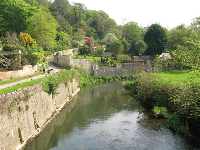 River Frome and Iford Manor gardens