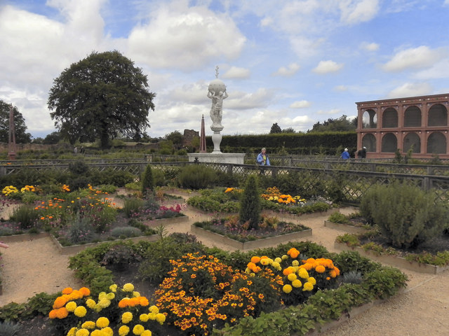The Elizabethan Gardens, Kenilworth Castle