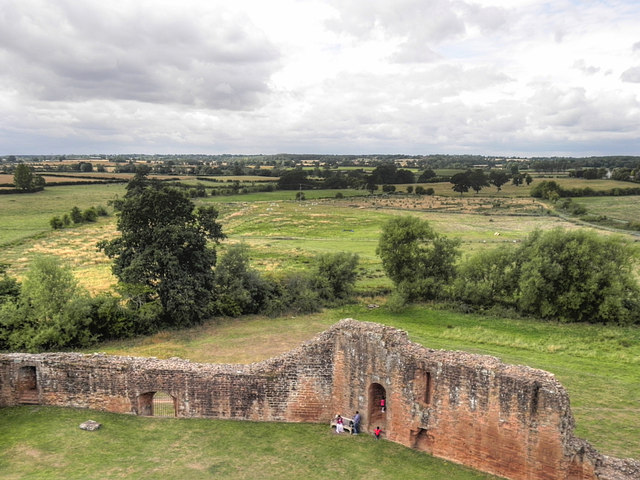 View from Kenilworth Castle